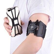 Banda de braço magnético universal esporte correndo caso suporte do telefone para o iphone 11 pro max 6 7 8 plus samsung s7 s8 s9 para xiaomi braçadeira