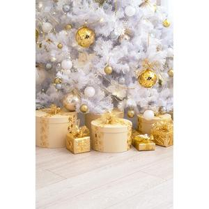 Image 2 - Christmas Balls Gifts Photo Backdrop Computer Printed Background for Children Baby Family Party Photoshoot Photography Props