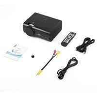 Multifuncional Portátil Home Video Projector Micro Projetor LEVOU para Casa Multimídia Teatro BL45 Plug EUA|Sistema de conferência| |  -