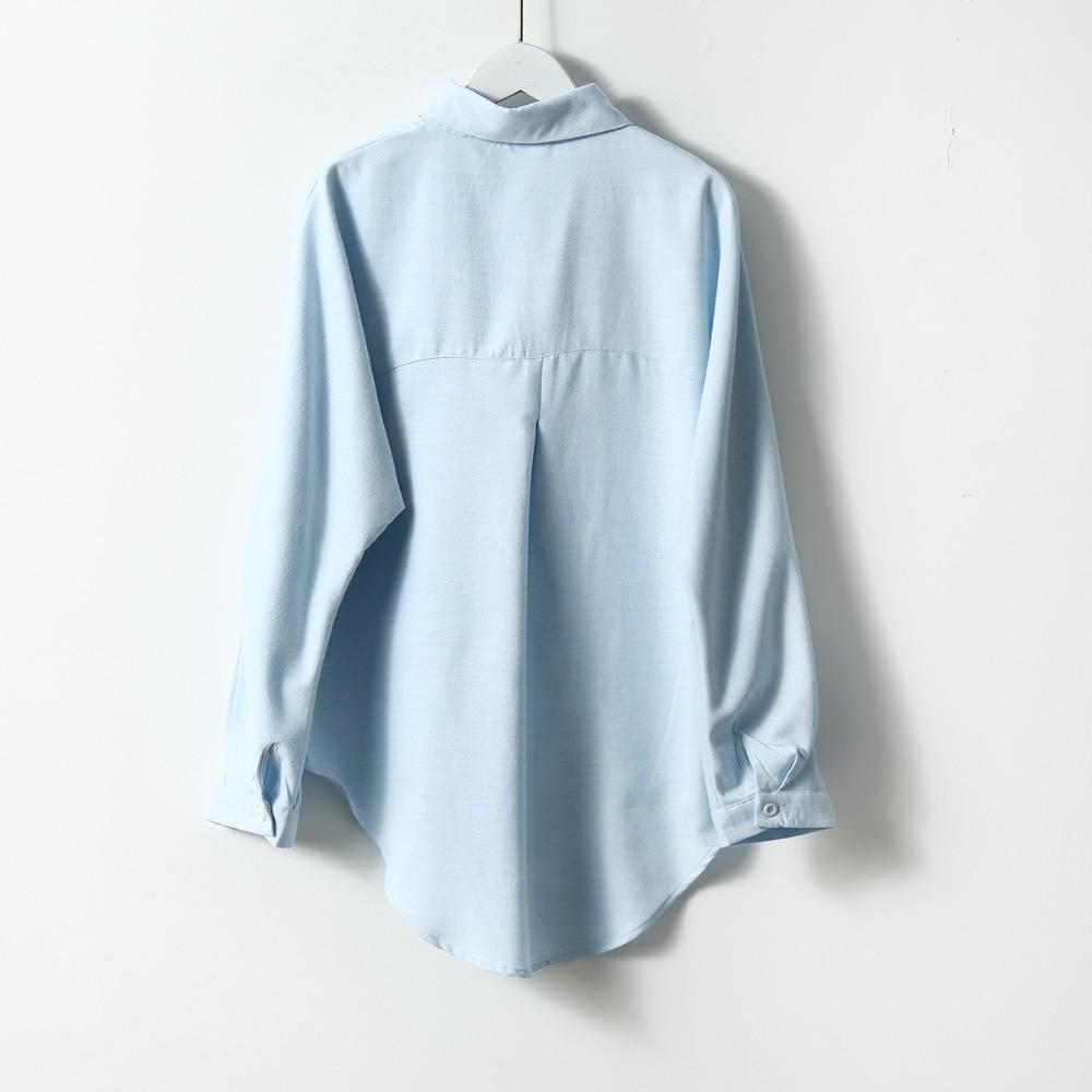 2020 Spring Women Summer Blouse Korean Long Sleeve Womens Tops And Blouses Vintage Women Shirts Blusas Roupa Feminina Tops 6