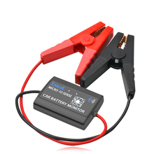 Купить с кэшбэком LANCOL Digital Battery Tester Start Battery Analyzer With Phone Display M-10A Car Battery Monitor With Bluetooth 12V Automotive
