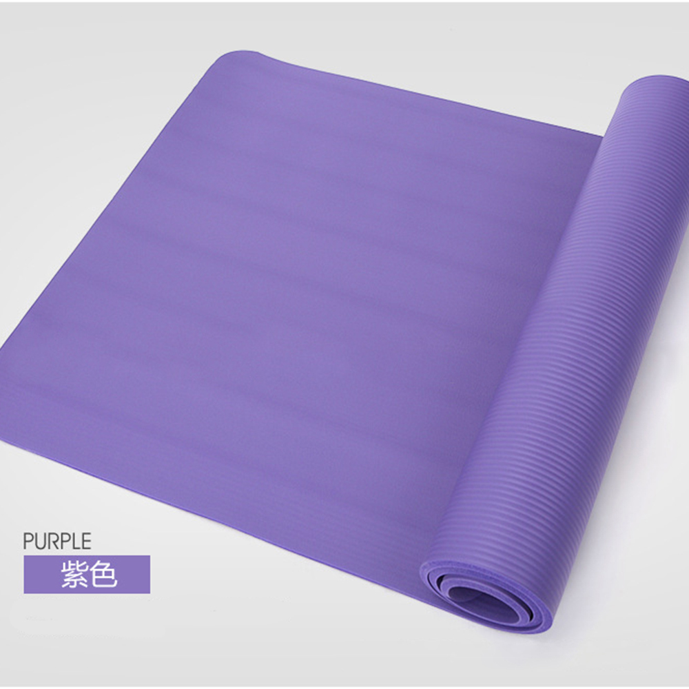 15mm Thickened NBR Yoga Mat Tear Resistant  For Beginner Fitness Gymnastics Non-slip Professional Fitness Sports Dance Yoga Mat