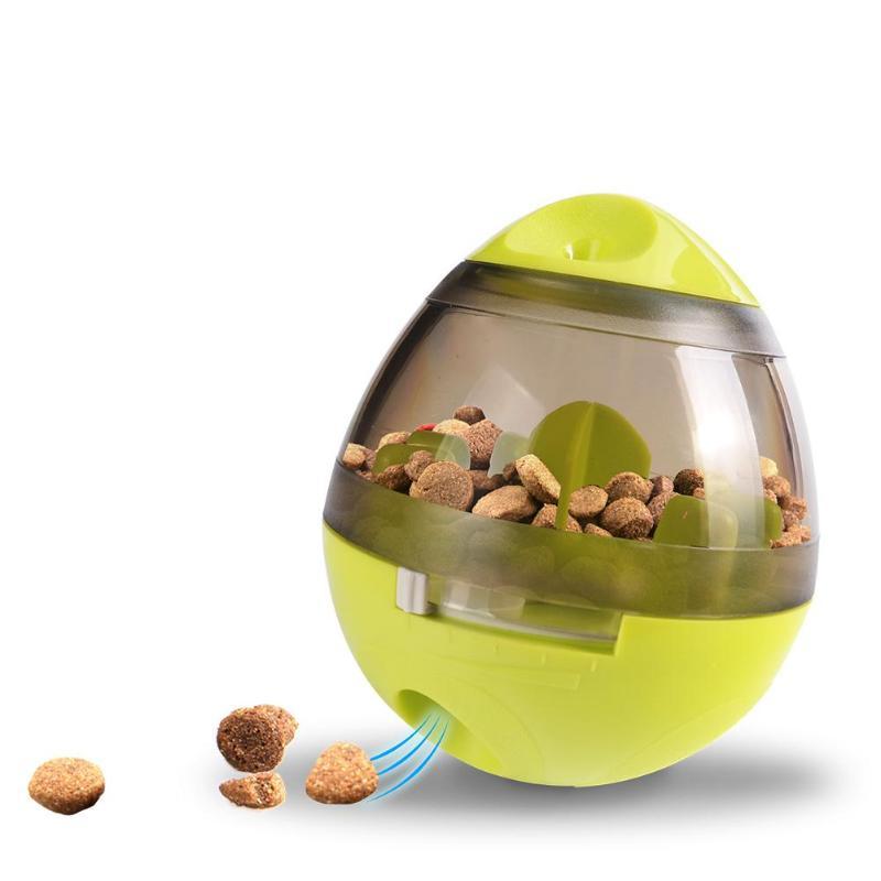 Juguete interactivo para perros IQ, Bola de comida para gato de juguete, adiestramiento de perros de alimentación para juguete, suministros para mascotas
