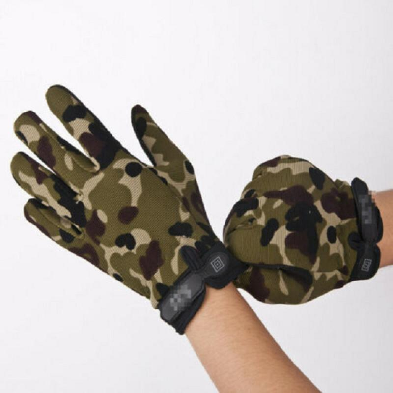 Outdoor Sporting Cycling <font><b>Gloves</b></font> Ridding <font><b>Gloves</b></font> Tactical Full Finger Air Soft Army <font><b>Military</b></font> <font><b>Motorcycle</b></font> <font><b>Gloves</b></font> Sports Full Finger image