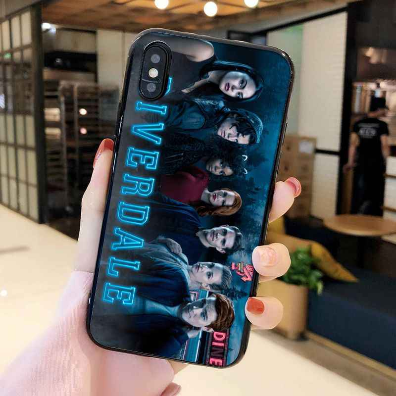 Maiyaca Chương Trình Truyền Hình Mỹ Riverdale Mặt Nam Con Rắn Phụ Kiện Điện Thoại Dành Cho iPhone 11 Pro XS Max XS XR 8 7 6 Plus 5 5S SE
