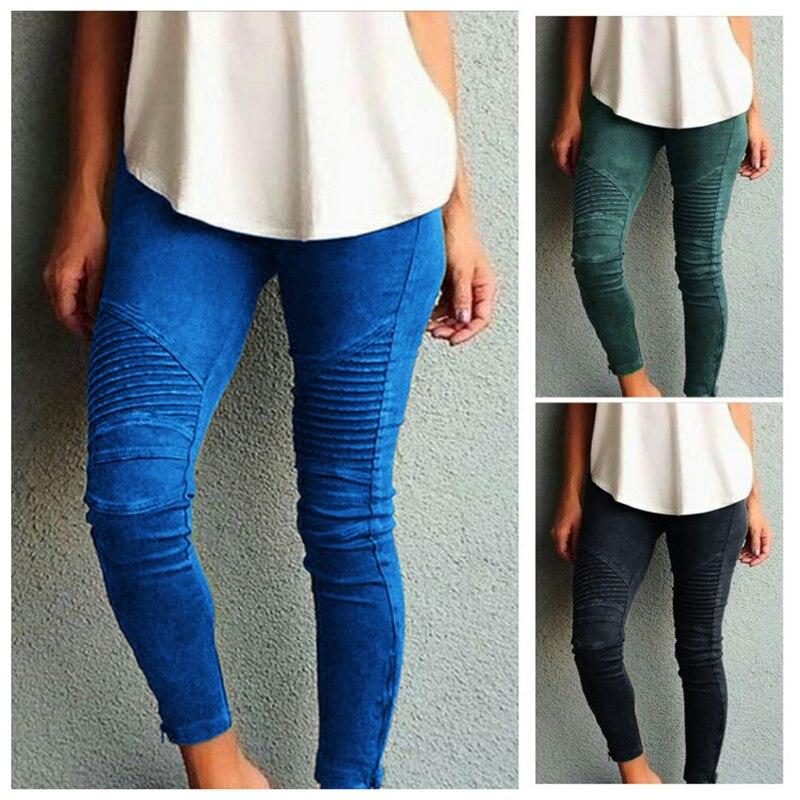Брюки-карандаш женские с завышенной талией, длинные брюки-карго с эластичным поясом, повседневные штаны в стиле Харадзюку, уличная одежда с пряжкой, черные