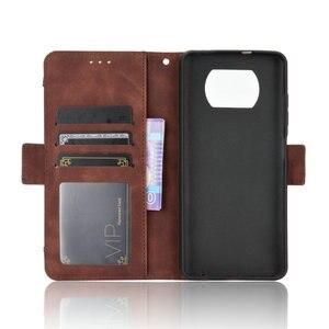 Image 4 - ل Xiaomi بوكو X3 برو فليب حالة بوكو F3 F 3 X 3X NFC جلدية بطاقة فتحة القابلة للإزالة محفظة غطاء فوندا بوكو F2 حالة PocoPhone M3