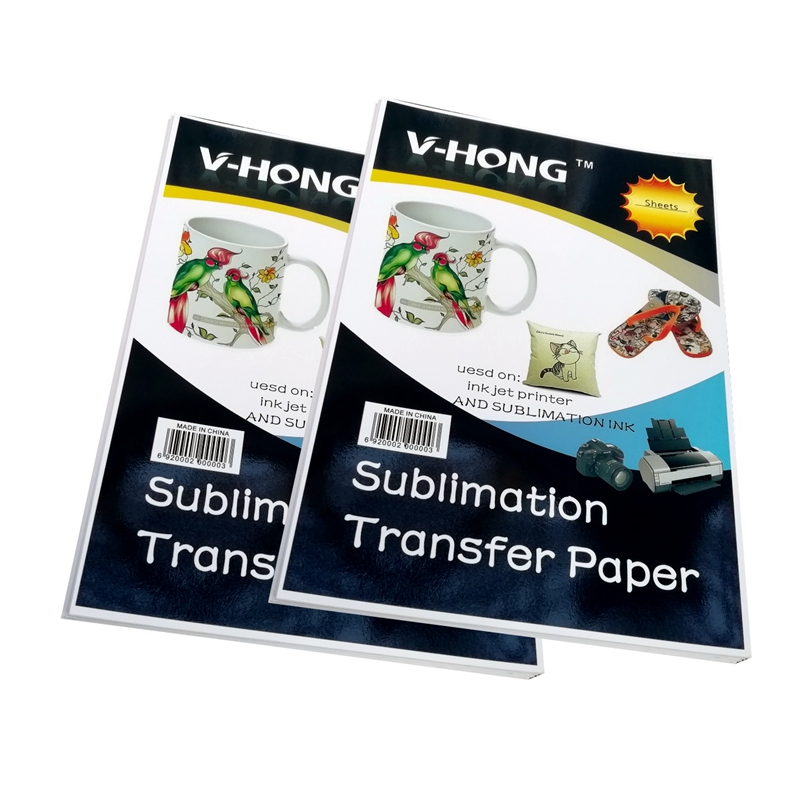 A3 A4 Size Glass Ceramic Polyester Transfer Paper 8.26x11.7 Inch Mosaic Products High Temperature Hot Stamping Sublimation Paper