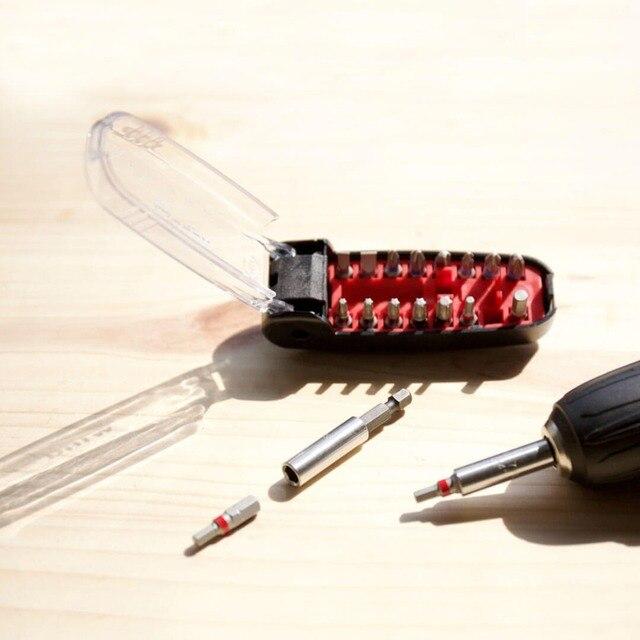 Xiaomi Wiha Crocodile bouche peu noir 17 pièces Kit de tournevis précision embouts magnétiques bricolage tournevis ensemble pour la maison