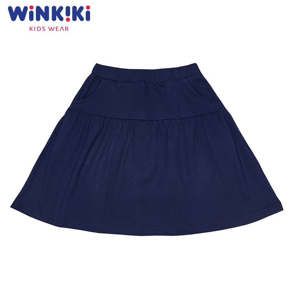 Skirts WINKIKI WJG91405 baby clothes skirt for girl school uniform Cotton Purple Casual