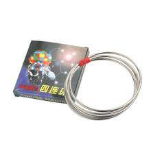 Tricks-Toys Linking Magician Metal-Rings Close-Up Funny Classic Kids for Adult Show Iron-Hoops-Tools