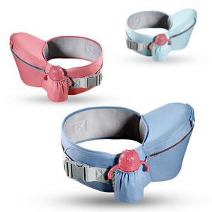 Image 3 - QINHU Baby Sling cintura taburete frontal tipo abrazo multifuncional luz infantil recién nacido solo taburete cuatro estaciones sujetar asiento de bebé