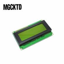 Placa LCD para arduino, módulo de pantalla LCD 2004, 20x4, 20x4, 5V, amarillo y verde, 2004 unidades por lote