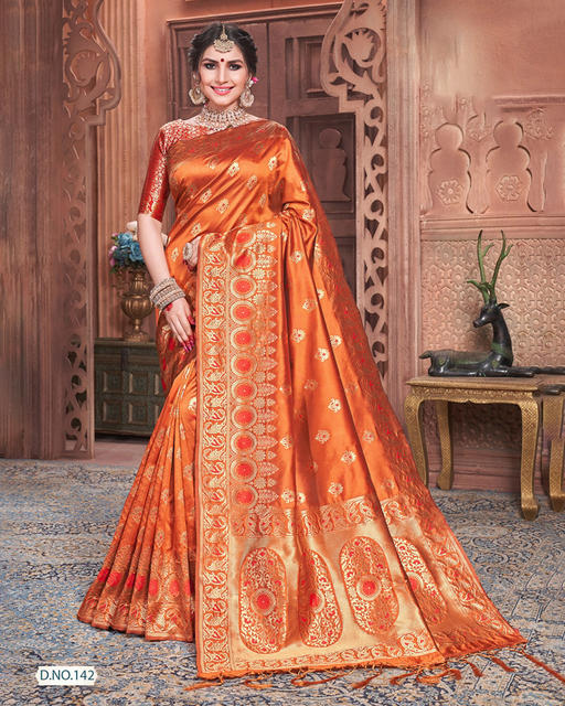 India Sari Ethnic Style Traditional Silk Embroidery Dress Female Includes Sare Choli Petticoat Indues