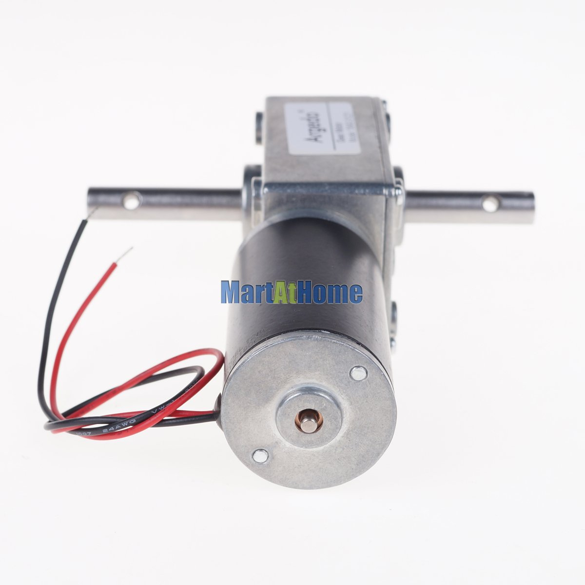 Image 4 - 5840 31zy Worm DC Geared Motor Double Shaft 21W 12V 24V Self locking Max. 70 Kg.cm for DIY Automatic drying rack-in DC Motor from Home Improvement