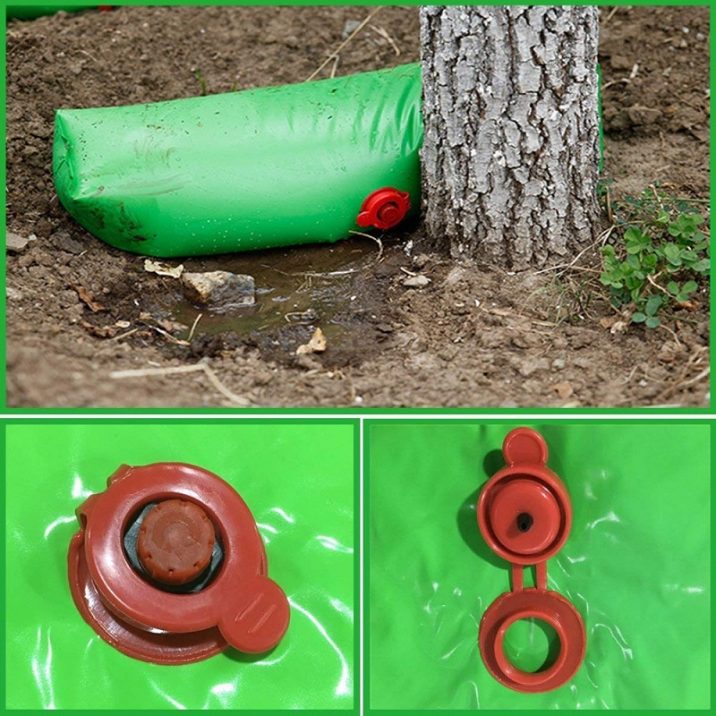 Garden Plant Watering Bag Easy Adjust Irrigation Speed Automatic Irrigation Slow release Watering Plastic Bag for Tree in Watering Kits from Home Garden