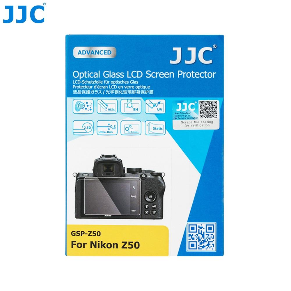 JJC Anti-Scratch Tempered Glass Camera Screen Protector For Nikon Z50 Z 50 Mirrorless Camera 0.01