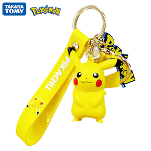 Original Pokemon Pikachu Figures Fashion Cartoon Keychain Pendant Pokémon Anime Decorations Model Toys Dolls Child Birthday Gift