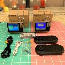 الرجعية رف الكتب وحدة تحكم تلفاز ألعاب GV300 3.0 شاشة عرض الكلاسيكية 2.4 جرام بلوتوث وحدة تحكم لاسلكية Bulit In 108 ألعاب هدية لطيفة