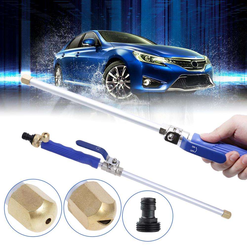 Car High Pressure Power Water Gun Garden Washer HoseWatering Sprinkler Tool 46.5cm Watering Spray Sprinkler Cleaning Tool