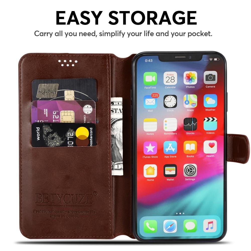 Magnetic Leather Flip Case for Xiaomi Mix 2 2S 3 Pro Black Shark Mi Play PocoPhone F1 Mi8 SE 5S Plus Case Wallet Stand Cover