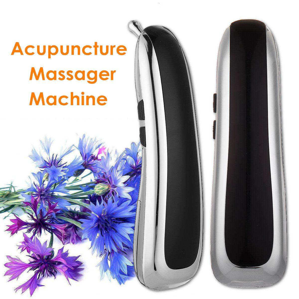Masseur d'acupuncture multifonction électrique stylo Laser stimulateur thérapie traitement Laser Moxibustion soulagement de la douleur soins de santé