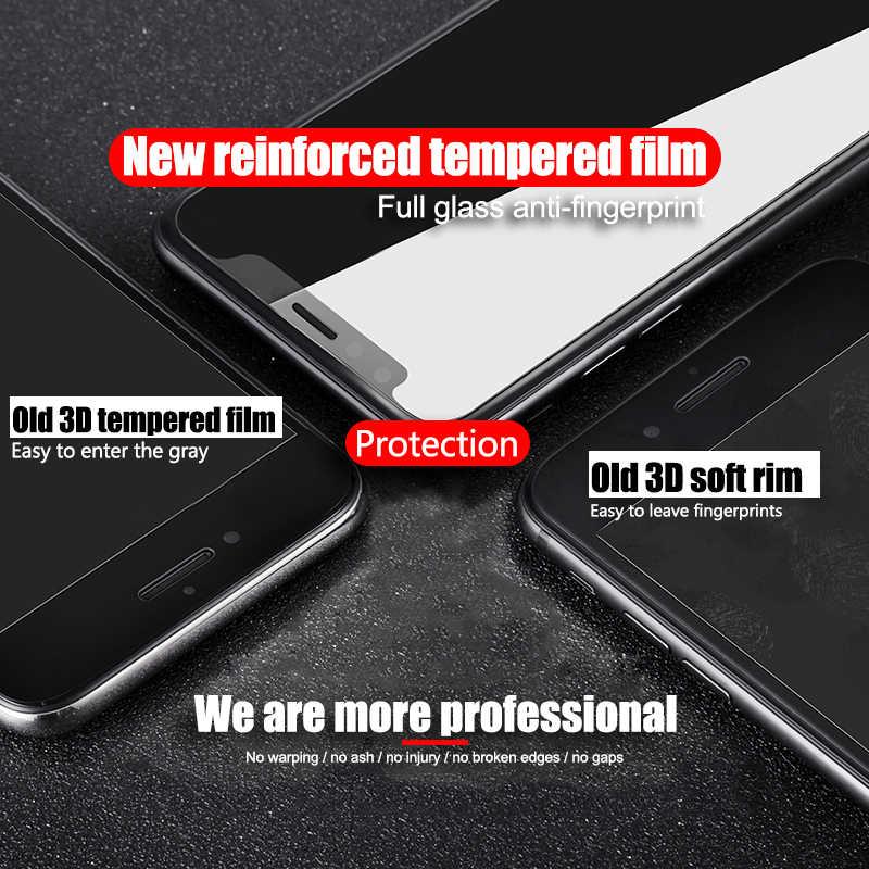 500D Bordo Curvo Vetro di Protezione per per Iphone 11 Pro Max 7 8 6 Plus Vetro Temperato per 11 pro X Xr Xs Max Protezione Dello Schermo