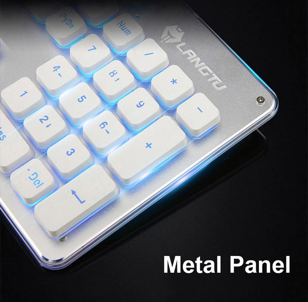 teclado e do rato com backlight 2.4g