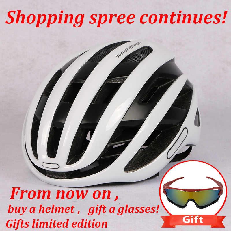 2018 ใหม่หมวกกันน็อคขี่จักรยาน MTB จักรยานหมวกกันน็อก Triathlon จักรยานกีฬา Aero Cascos Ciclismo Capaceta Bicicleta อุปกรณ์จักรยาน