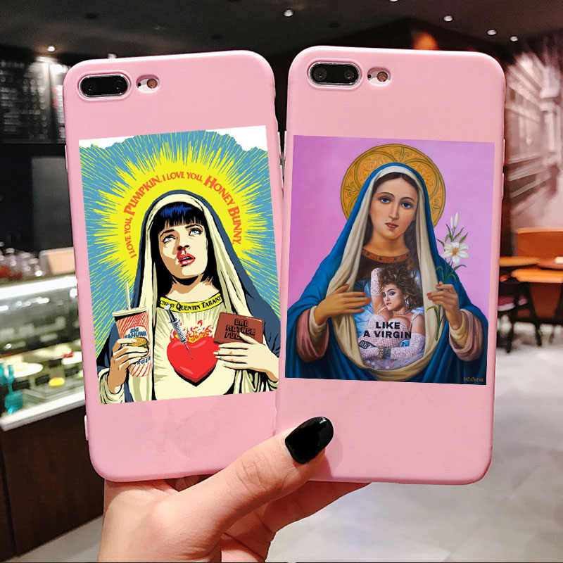 Freddie Mercury Fiction Saint Mia Saint Jules Cover per iPhone X XR XS Max 6 6s 8 7 Plus cattolicesimo Per il Caso di iPhone 11 Pro Max