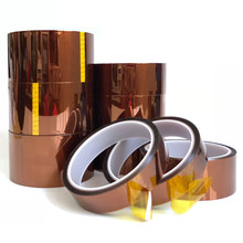30meter x 5-40mm High Temperature Polyimide Tape Heat Resistant Insulation Polyimide Film Adhesive Tape 10mm