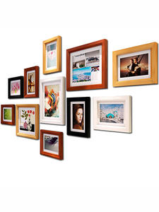 Certificate Frame Poster-Pictures Coffee Wooden White Black Wall Classic Nature A3 A4