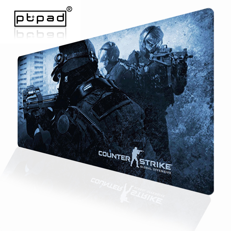 Pbpad <font><b>900x400</b></font> Gaming Gamer Mouse Pad Large Mouse Mat No-Slip Lock Edging PC Laptop Mause Pad CS GO Computer Desk Mousepad image