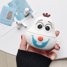 3D Earphone Case for Airpods Pro Case Silicone Ctue Cartoon Headphone/Earpods Co