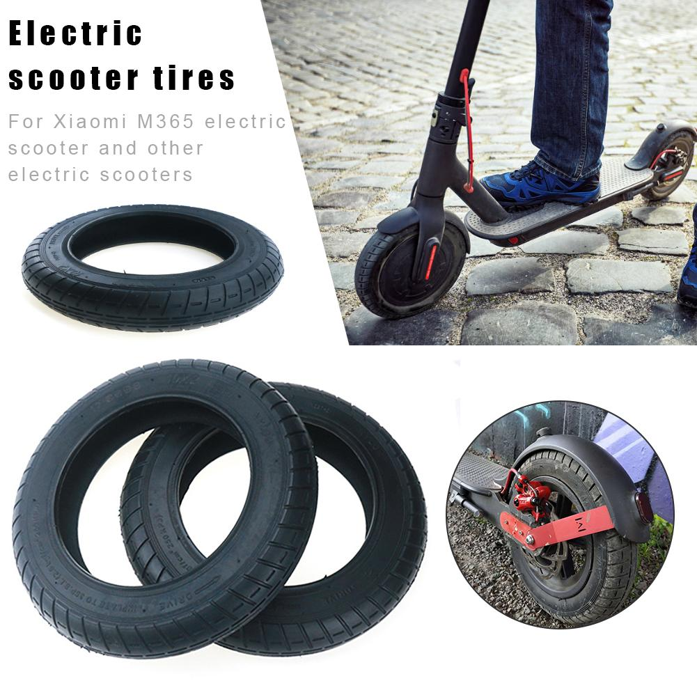 10 X2 Inch Tire for Xiaomi Mijia M365 Mi Electric Scooter Tyre Thicker Inflation Wheel Tyre Outer Inner Tube Pneumatic Tyre