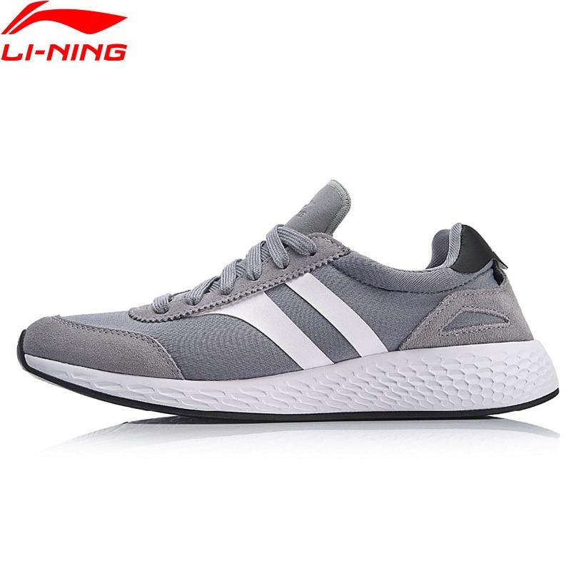 (Break Code)Li-Ning Men LN STRIPE Lifestyle Shoes Light LiNing Li Ning Sport Shoes Wearable Leisure Sneakers AGCN063 YXB202
