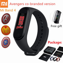 2019 Newest Original Xiaomi Mi Band 4 avengers official edition Smart Miband avenger Bracelet Bluetooth5.0 Heart Rate Fitness