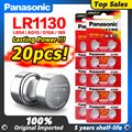 20 штук Panasonic Ag 10 Батарея сотовый 1,5 V AG10 LR1130 LR 1130 Щелочная батарейка-кнопка Батарея 389 LR54 SR54 189 LR1130 аккумуляторы таблеточного типа