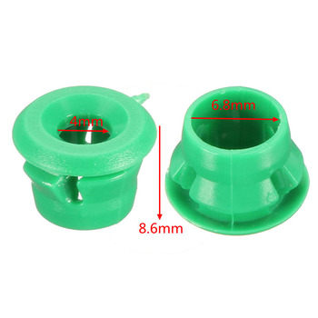 20x Clips For BMW Side Sill Skirt Trim Moulding Grommet E30 E32 E36 E46 Sale Hot Plastic Green Car Accessories image
