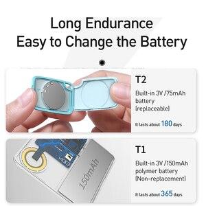 Image 4 - Baseus T2 Mini GPS Tracker Anti Perso Bluetooth Tracker Per La Chiave Del Raccoglitore Del Sacchetto Del Capretto Del Bambino Anti Allarme di Perdita di Smart Tag key Finder Locator