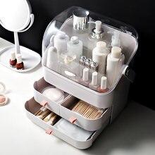 Защита от пыли коробка для хранения косметики прозрачный Органайзер