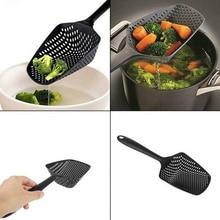 Пищевой совок дуршлаг лопаты растительная пища сливная ложка большой дуршлаг фильтры кухонные принадлежности