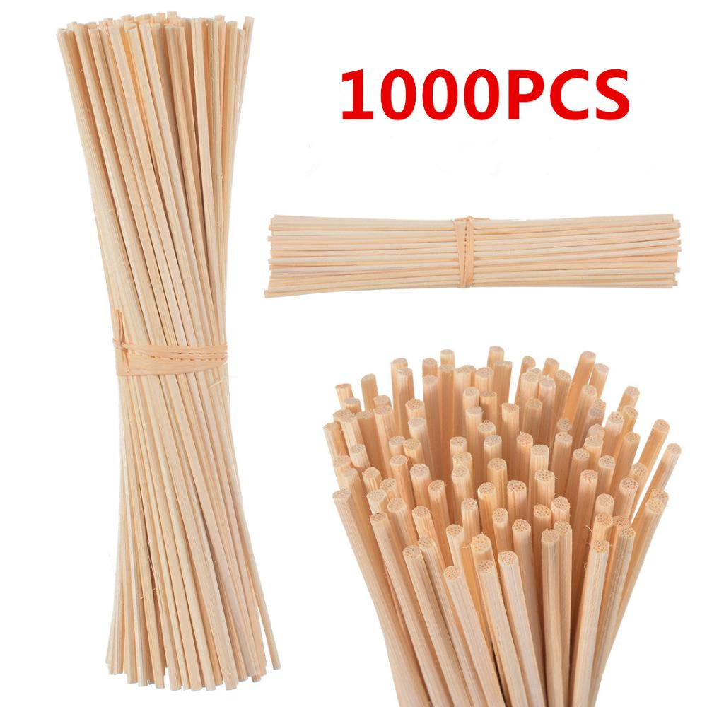 1000pcs 22cm*3mm Aroma Rattan Reed Diffuser Sticks Replacement Refill Sticks For Fragrance