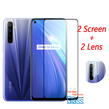 цена на Full Cover Tempered Glass For Oppo Realme 6 Screen Protector For Oppo Realme 6 Camera Glass For Oppo Realme 6 Protector Glass