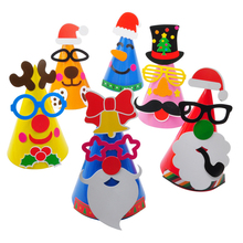 Childrens DIY Handmade Christmas Hat Pointed Kindergarten Creative Educational Toy Material Package