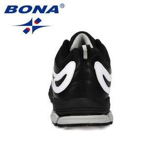 Image 3 - بونا جديد مصمم الاتجاه احذية الجري الرجال رياضية عالية الجودة في الهواء الطلق الدانتيل متابعة أحذية للمشي Zapatillas Hombre مريحة
