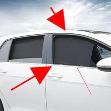 Para volkswagen golf 7 mk7.5 especial lateral janela traseira pára-sol janela protetor solar cortina de isolamento interior modificação net