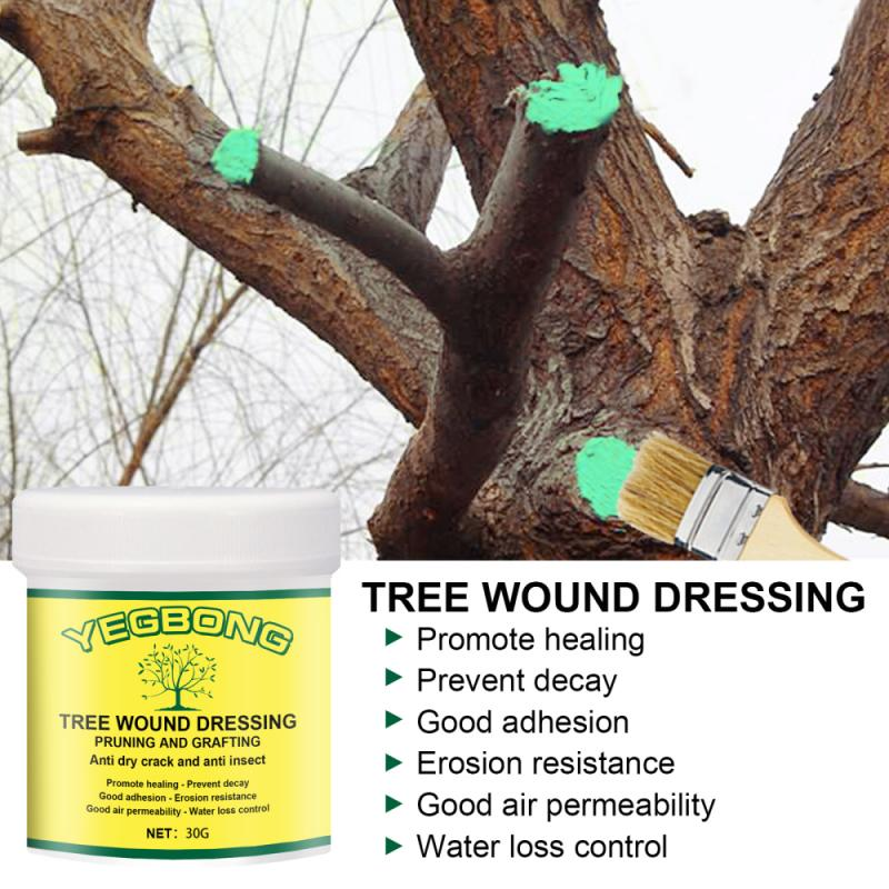 30g Big Tree Wound Healing Agent Plant Smear Agent Hualitong Tree Wound Healing Plaster To Supplement Rooting Garden Supplies