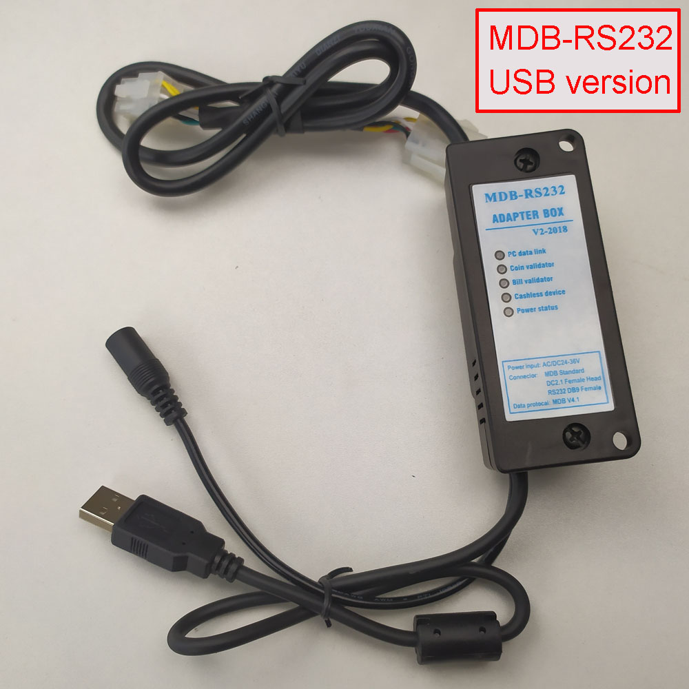 New Version MDB-RS232 MDB Payment Device  To PC RS232 Converter USB Interface