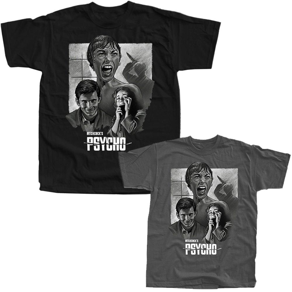 Psycho Michael Jackson Alfred Hitchcock Movie 1960 Streetwear T-Shirts All Sizes S-3Xl Billie Eilish Fear Cosplay Croatia image
